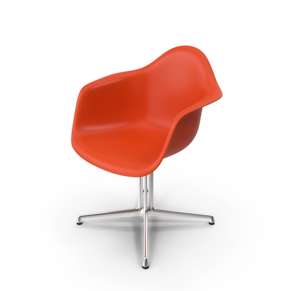 Eames Plastic Armchair DAL PNG & PSD Images