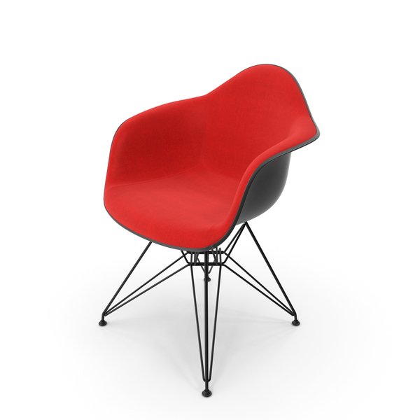 Eames Plastic Armchair DAR PNG & PSD Images