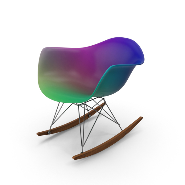 Eames Rocking Chair Colorful PNG & PSD Images