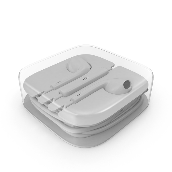 Earphones: Earbuds Box PNG & PSD Images