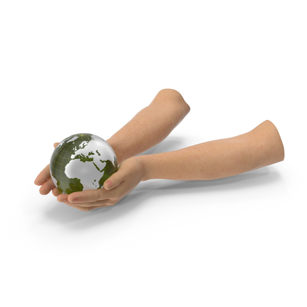 Earth Held In Hands PNG & PSD Images