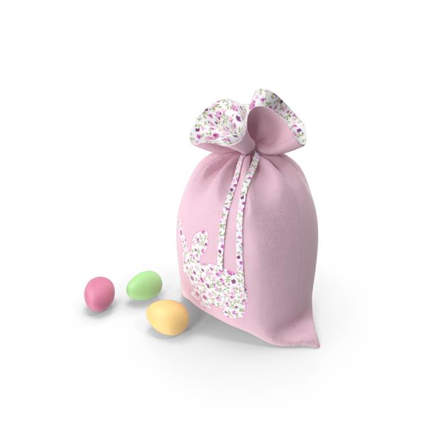 Easter Bag Pink PNG & PSD Images