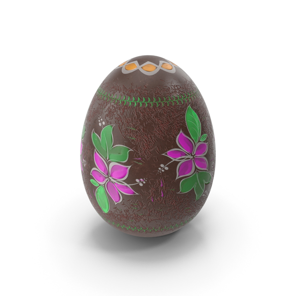 Easter Egg Chocolate Design PNG & PSD Images