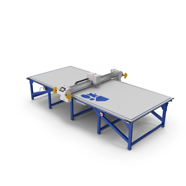 Eastman Eagle S125 Static Table Cutting System PNG & PSD Images
