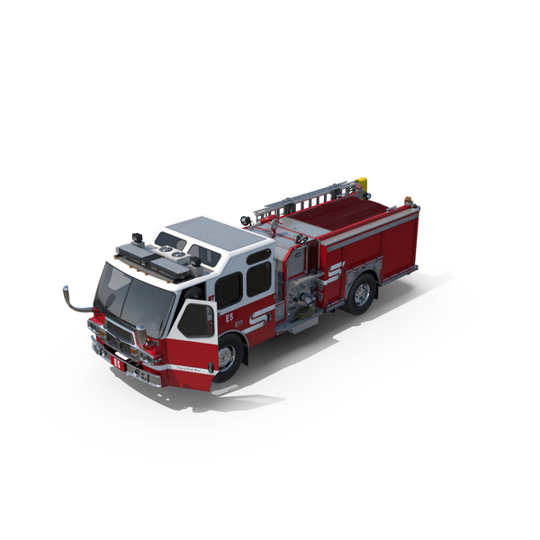 Eastside Fire Engine PNG & PSD Images