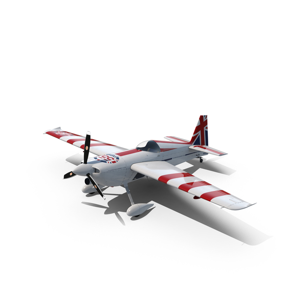 Edge 540 Race Aircraft Bonhomme Object