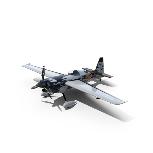 Edge 540 Race Aircraft Goulian Scheme PNG & PSD Images