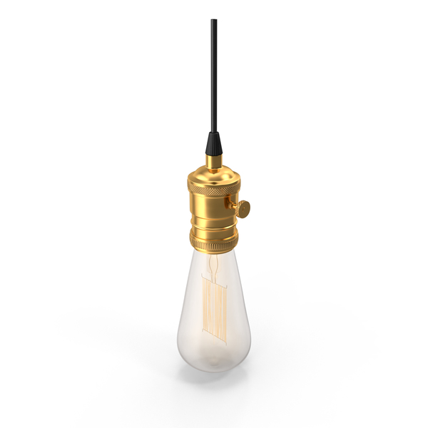 Edison Light Bulb PNG & PSD Images