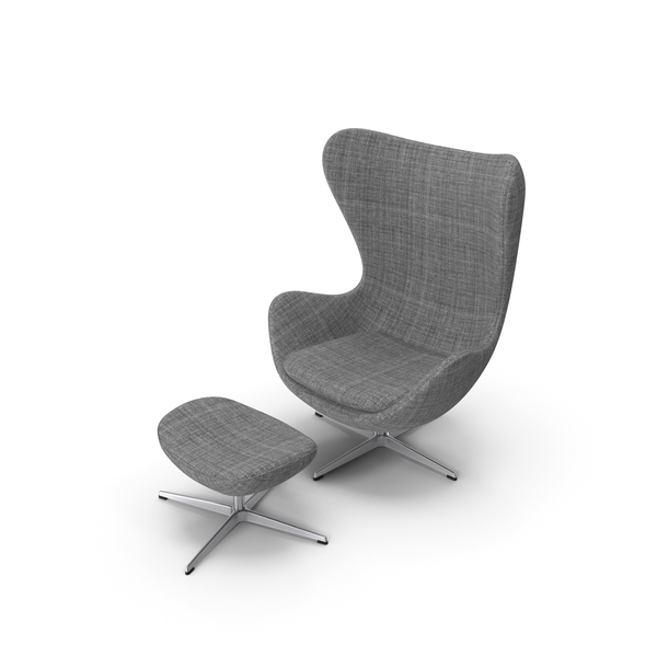 Egg Lounge Chair Suit PNG & PSD Images
