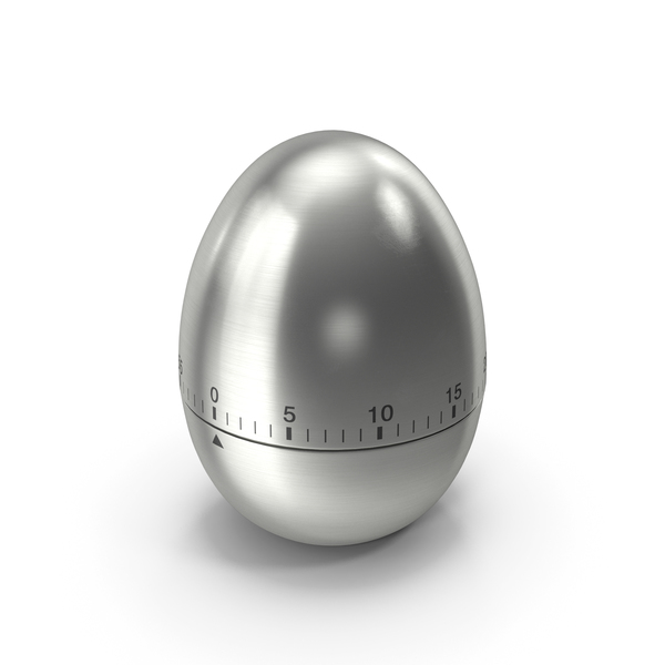 Egg Shaped Kitchen Timer PNG & PSD Images