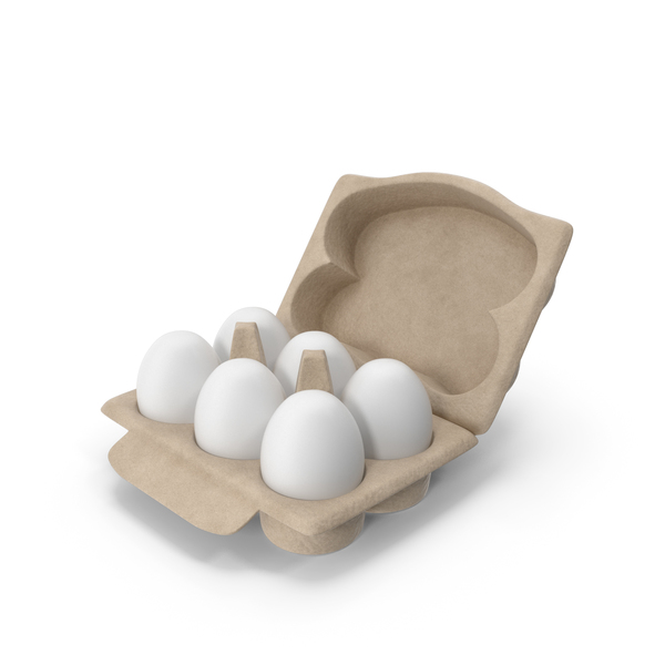 Eggs White in Box PNG & PSD Images