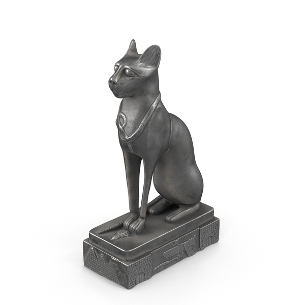 Egyptian Cat Statue PNG & PSD Images