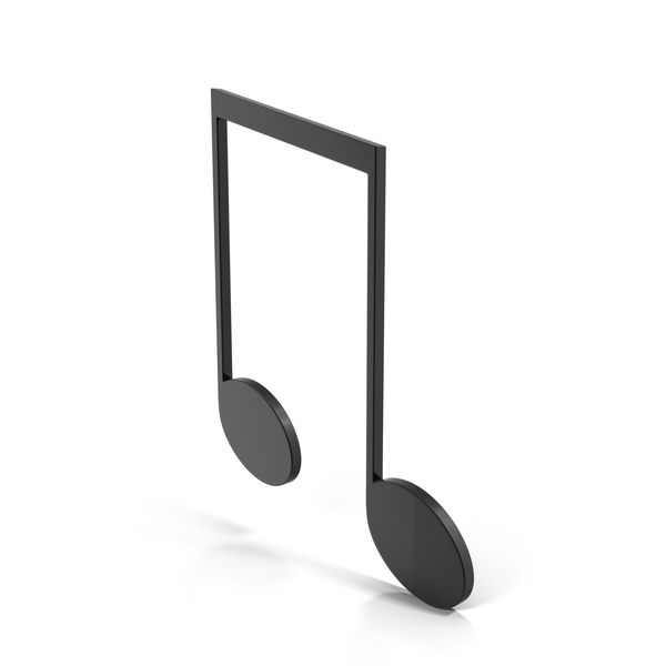 Musical: Eighth Note Beamed PNG & PSD Images