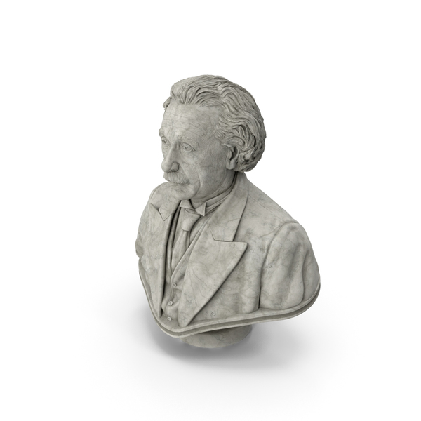 Einstein Bust PNG & PSD Images