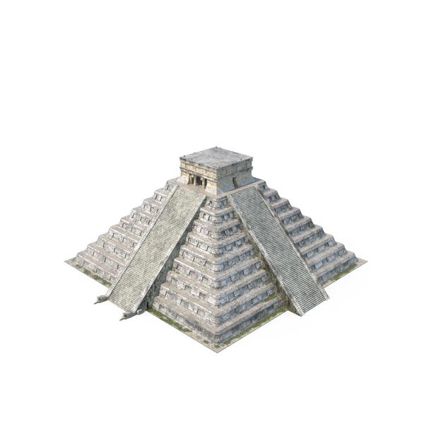 Mayan: El Castillo Pyramid Object