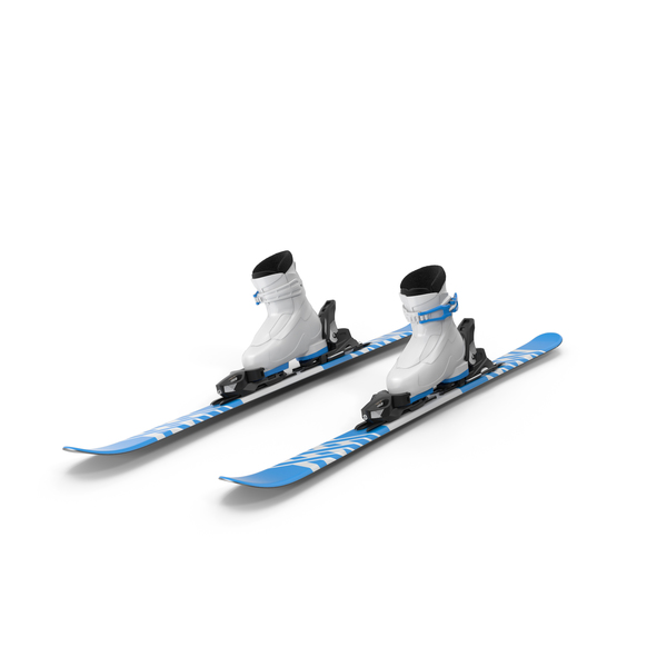 Elan Skis' Alpine Skis Turning PNG & PSD Images