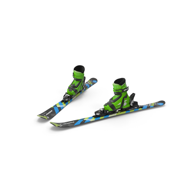 Elan Skis' Maxx Kid's Skis Braking PNG & PSD Images
