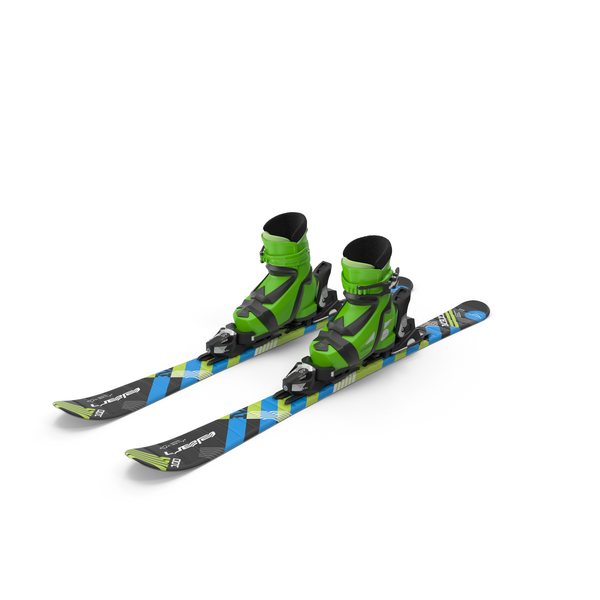 Elan Skis' Maxx Kid's Skis PNG & PSD Images