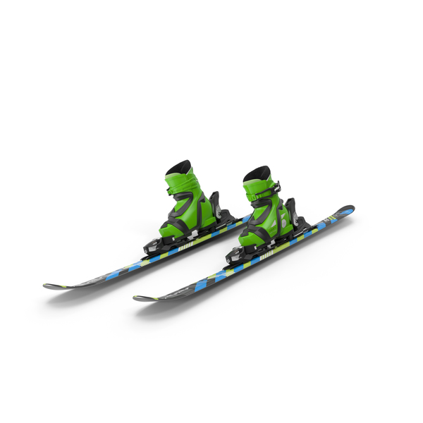 Elan Skis' Maxx Kid's Skis Turning PNG & PSD Images