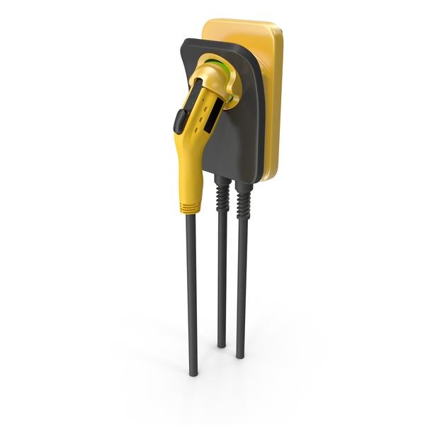 Electric Car Charging Plug Generic PNG & PSD Images