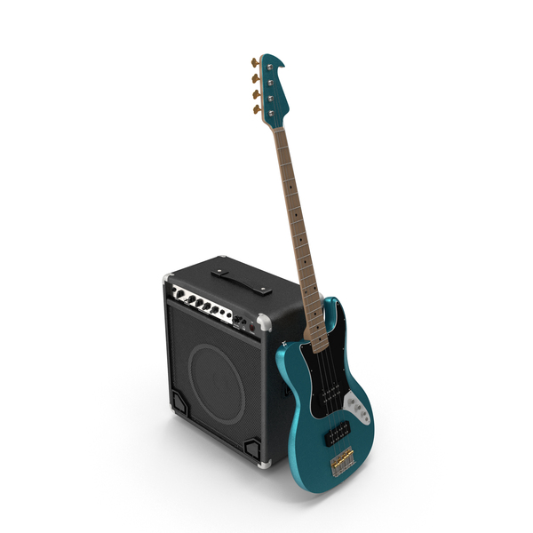 Bass: Electric Guitar And Amp PNG & PSD Images