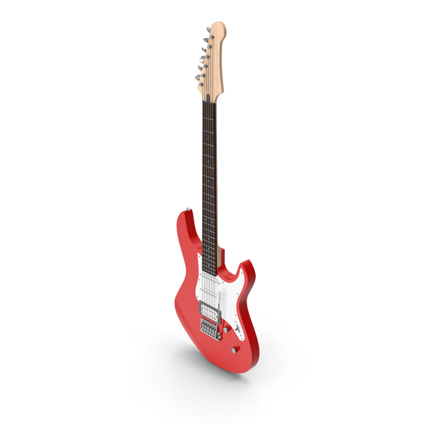 Electric Guitar Red PNG & PSD Images