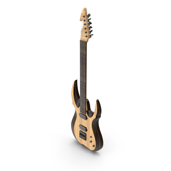 Electric Guitar Standing Up PNG & PSD Images