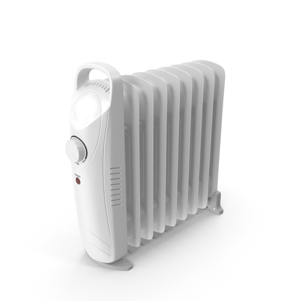 Electric Heater Oil Filled Radiator PNG & PSD Images
