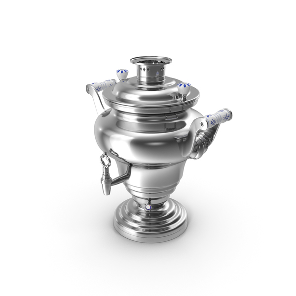 Electric Russian Samovar Kettle PNG & PSD Images