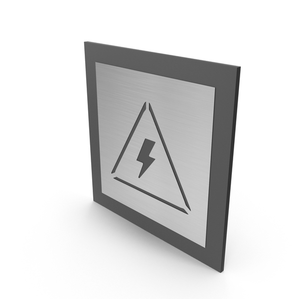 Electricity Room Door Sign PNG & PSD Images