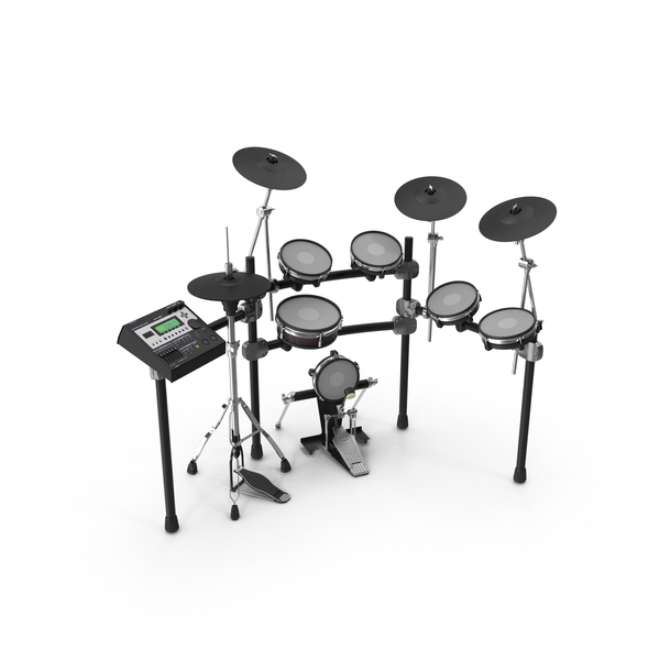 Electronic Drum Kit PNG & PSD Images