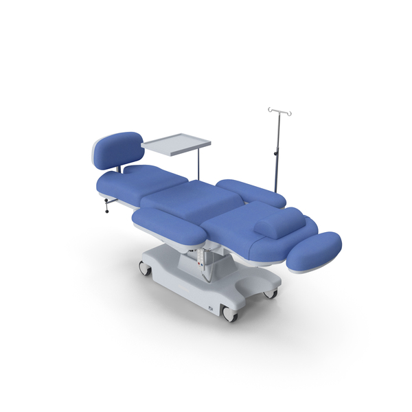 Exam Table: Electronic Medical Procedure Chair PNG & PSD Images