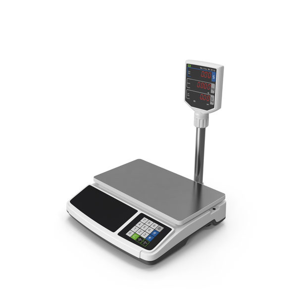 Electronic Shop Food Scales PNG & PSD Images