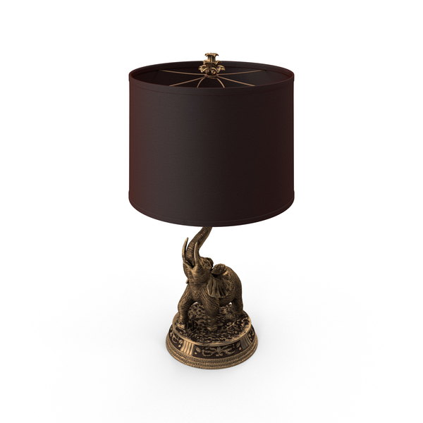 Elephant Lamp Object