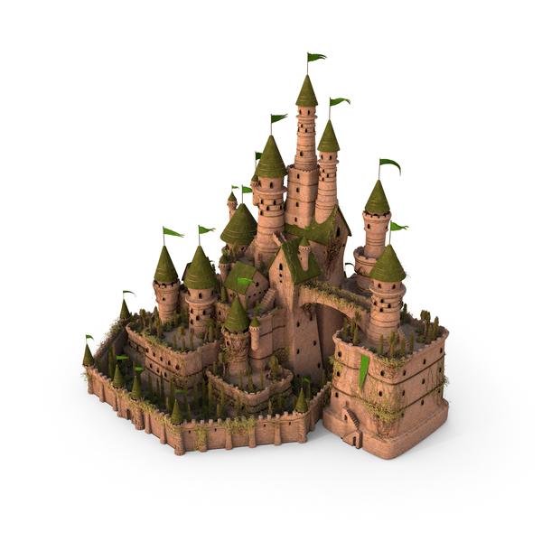 Elf Castle PNG & PSD Images