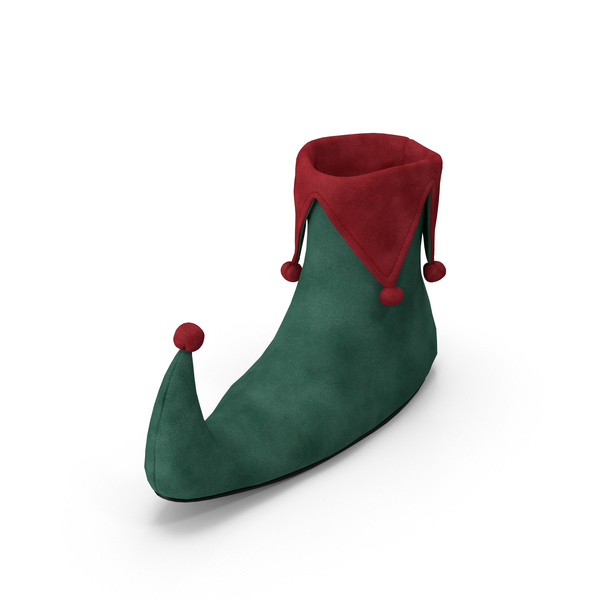 Ankle Boots: Elf Shoe PNG & PSD Images