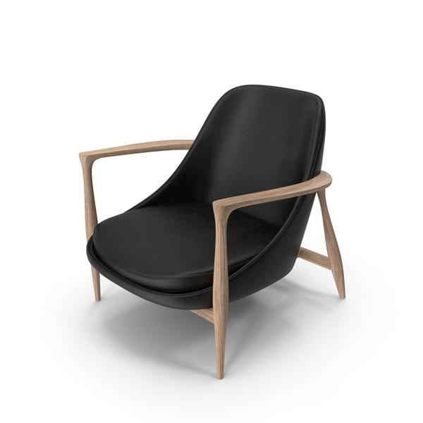 Elisabeth Chair Oak Black PNG & PSD Images