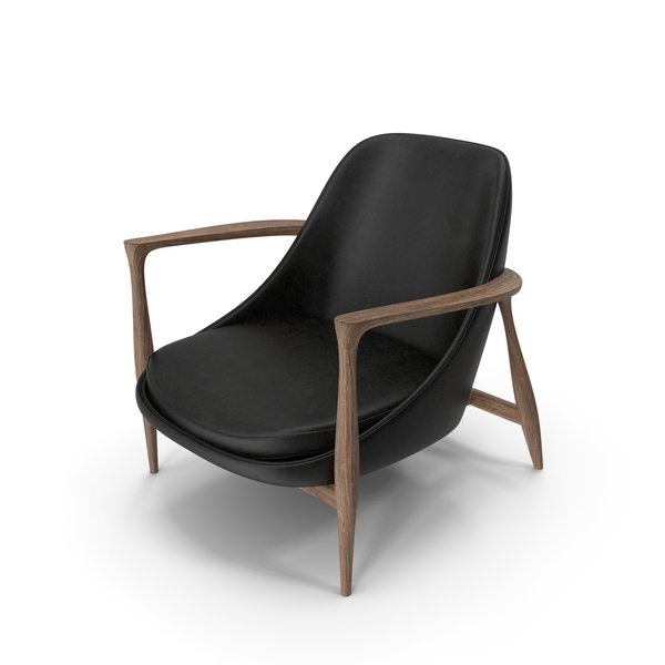 Elisabeth Chair Oak Black PNG & PSD Images