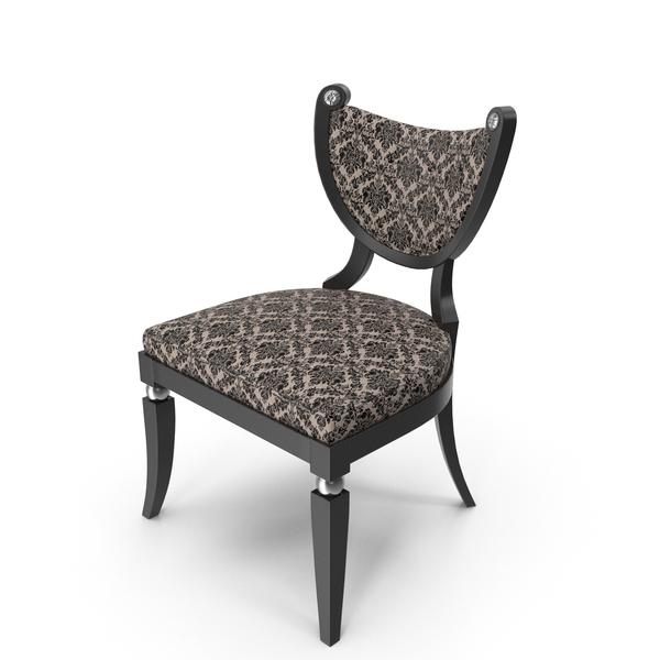 Elledue Art Deco Club Chair PNG & PSD Images