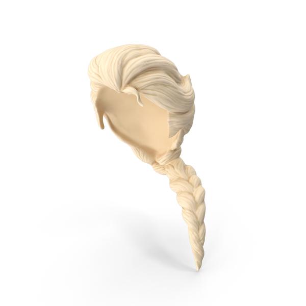 Elsa Wig Object
