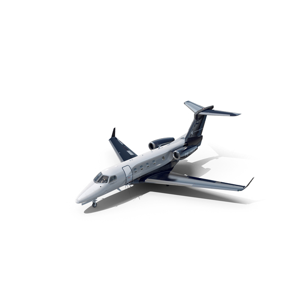 Airplane: Embraer Phenom 300E Private Jet PNG & PSD Images