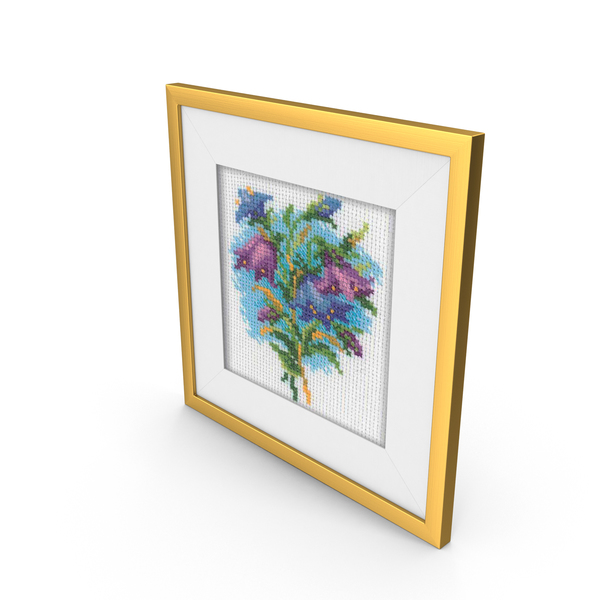 Embroidery Frame PNG & PSD Images