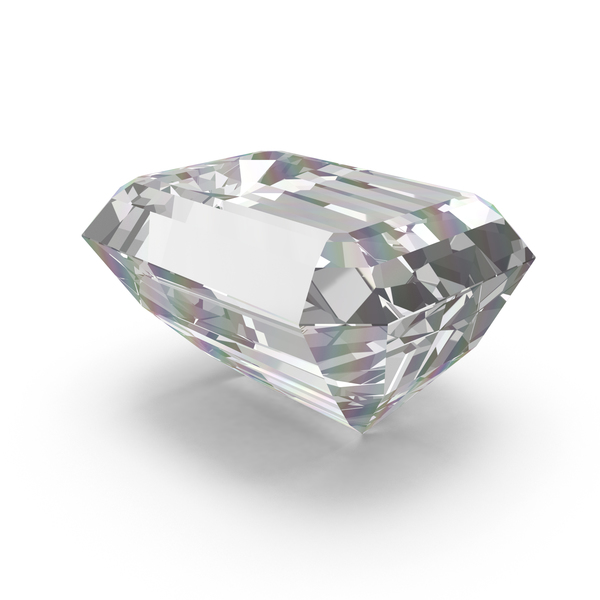 Emerald Cut Diamond PNG & PSD Images