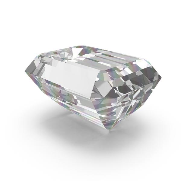 Emerald Cut Diamond PNG & PSD Images