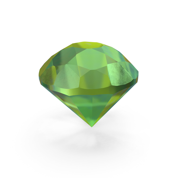 Emerald Diamond PNG & PSD Images