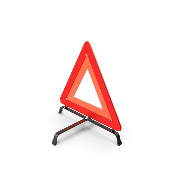 Caution: Emergency Warning Triangle PNG & PSD Images