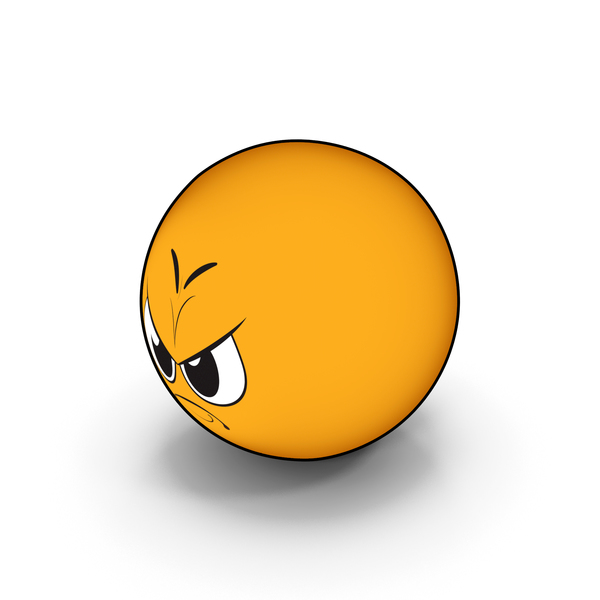 Emoji Anger PNG & PSD Images