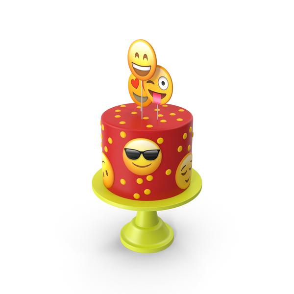 Emoji Cake PNG & PSD Images