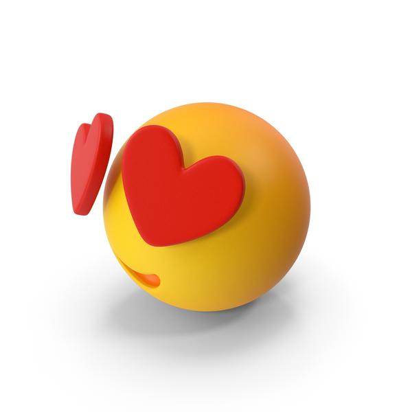 Emoji Heart Eyes PNG & PSD Images