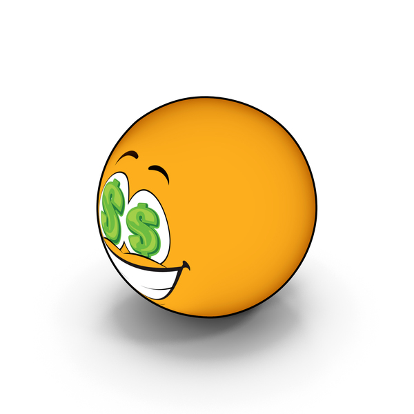 Smiley Face: Emoji Money PNG & PSD Images